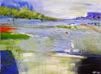 Philippin--Inge-Landscapes-Sea-Ocean-Nature-Water-Contemporary-Art-Contemporary-Art