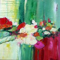 Philippin--Inge-Plants-Flowers-Emotions-Joy-Contemporary-Art-Contemporary-Art