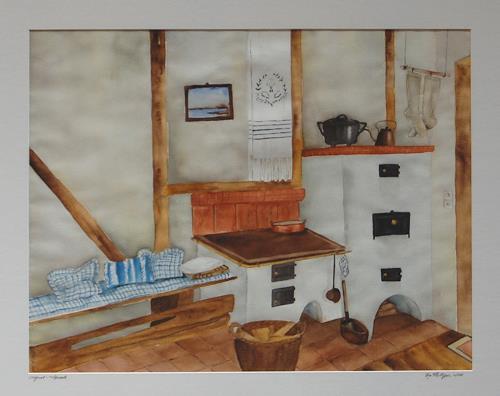 Philippin, Inge, Landleben 4, Interiors: Villages, Contemporary Art