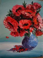 Yakuba-Elena-Plants-Flowers-Still-life-Contemporary-Art-Contemporary-Art