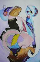 Yakuba-Elena-Abstract-art-Animals-Land-Modern-Age-Symbolism