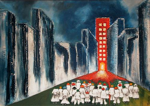Pavel Hulka, Querdenker I, Society, People: Group, Realism