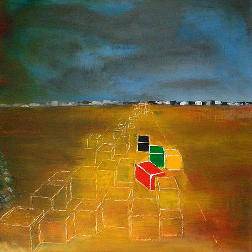 Pavel Hulka, Sommer 2000, Society, Industry  , Realism, Abstract Expressionism