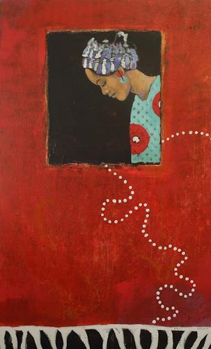 K.Ryn, Das Mädchen mit dem Ohrring, People: Women, Society, New Figurative Art