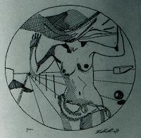 Karlheinz-Koenig-Erotic-motifs-Female-nudes-Decorative-Art-Contemporary-Art-Post-Surrealism