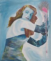 SCHENKEL-People-Women-Movement-Modern-Age-Photo-Realism-Hyperrealism