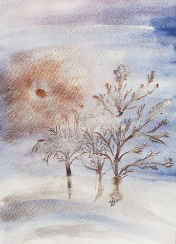 Barbara Straessle, Winter, Landscapes: Winter, Nature: Miscellaneous