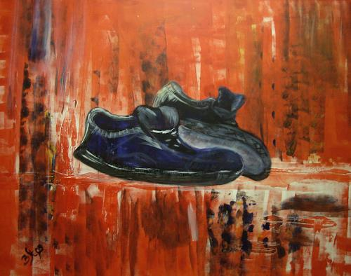 Barbara Straessle, Toreador Schuhe 1, The world of work, Industry  , Contemporary Art