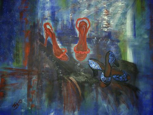 Barbara Straessle, Toreador Schuhe III, Interiors: Industry  , Decorative Art