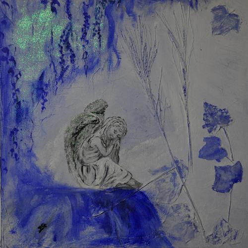 Barbara Straessle, Engel, Landscapes: Winter, Emotions: Safety, Contemporary Art