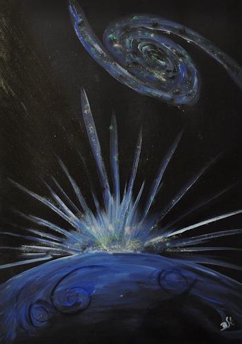 Barbara Straessle, Kometeneinschlag, Outer space: Stars, Miscellaneous Outer Space, Contemporary Art