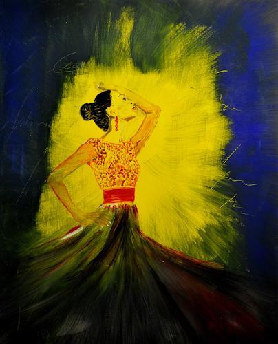 Barbara Straessle, Flamenco, People: Women, Movement, Contemporary Art