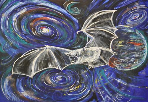 Barbara Straessle, Ultraschall, Animals: Air, Miscellaneous Outer Space, Contemporary Art