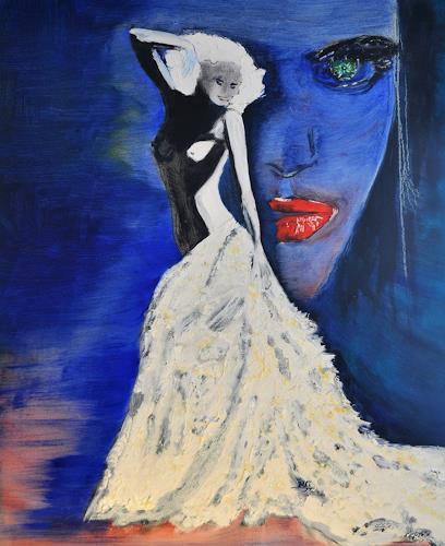 Barbara Straessle, Hommage an Gaultier, Miscellaneous Erotic motifs, Movement, Contemporary Art