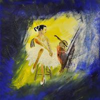 Barbara-Straessle-People-Women-Miscellaneous-Romantic-motifs-Contemporary-Art-Contemporary-Art