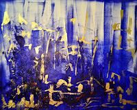 Barbara-Straessle-Miscellaneous-Landscapes-Architecture-Modern-Age-Abstract-Art-Action-Painting