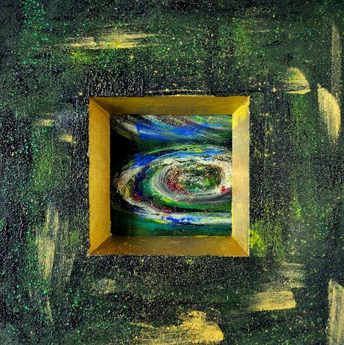 Barbara Straessle, Planeten III, Miscellaneous Outer Space, Outer space: Stars, Contemporary Art