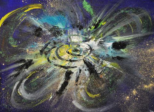 Barbara Straessle, Universum, Miscellaneous Outer Space, Outer space: Stars, Contemporary Art