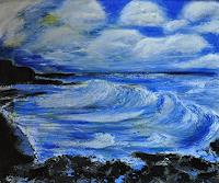 Barbara-Straessle-Landscapes-Sea-Ocean-Miscellaneous-Landscapes-Contemporary-Art-Contemporary-Art