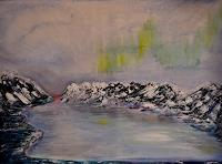 Barbara-Straessle-Landscapes-Sea-Ocean-Landscapes-Mountains-Modern-Age-Naturalism