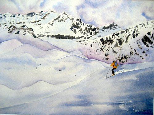 Stephanie Zobrist, Die letzte Abfahrt, Times: Winter, Leisure, Naturalism
