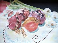 Stephanie-Zobrist-Plants-Fruits-Still-life-Modern-Age-Naturalism