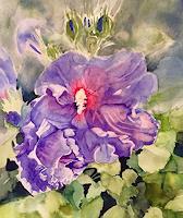 Stephanie-Zobrist-Landscapes-Spring-Plants-Flowers-Modern-Age-Naturalism