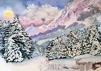 Stephanie-Zobrist-Landscapes-Mountains-Times-Winter-Modern-Age-Naturalism