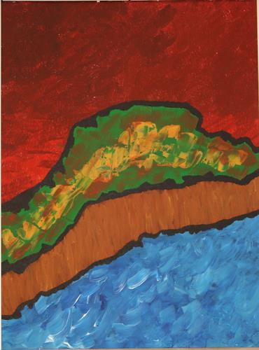 Ralf H. G. Schumacher, Ostseestrand im Abendrot, Landscapes: Sea/Ocean, Landscapes: Beaches
