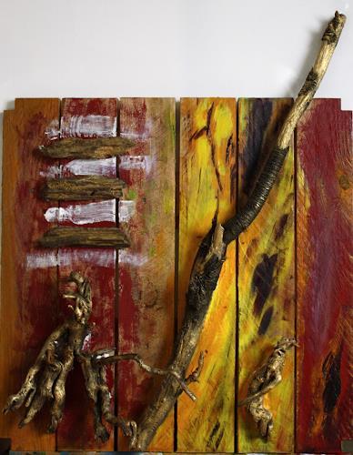 Ralf H. G. Schumacher, Strandgut III, Landscapes: Sea/Ocean, Landscapes: Beaches, Contemporary Art
