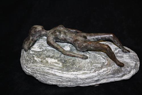 Ralf H. G. Schumacher, Sonnende, Erotic motifs: Female nudes, People: Women, Contemporary Art