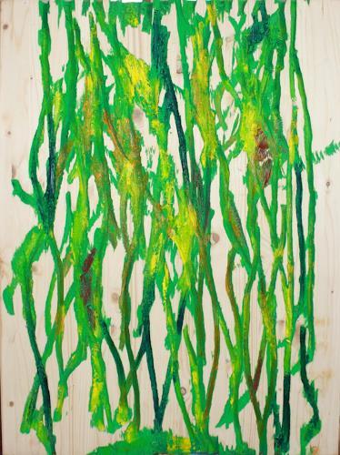 Ralf H. G. Schumacher, Urwald, Nature: Wood, Landscapes: Tropics, Contemporary Art