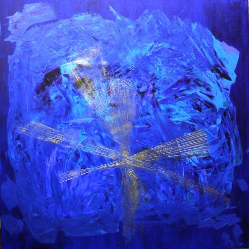 Ralf H. G. Schumacher, Goldener Stern, Abstract art, Decorative Art, Contemporary Art