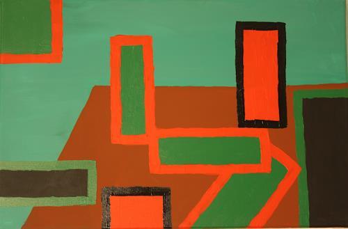 Ralf H. G. Schumacher, eckig, Abstract art, Still life, De Stijl