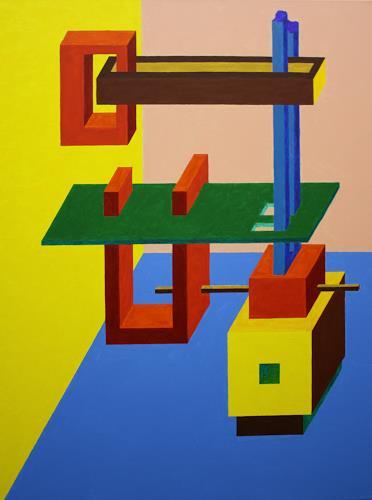 Ralf H. G. Schumacher, Konstrukt, Architecture, Fantasy, De Stijl