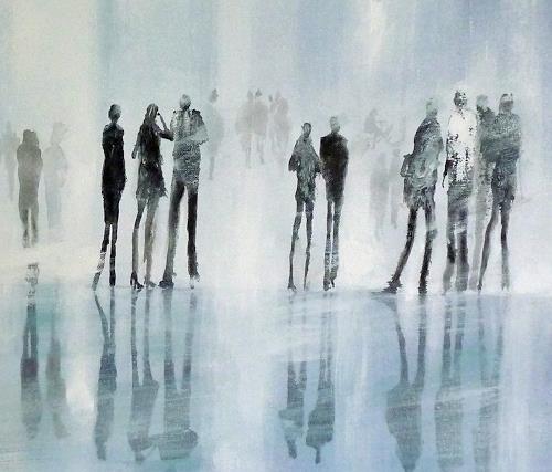 Soraya Hamzavi-Luyeh, Eiszeit, Abstract art, Abstract art, Abstract Art, Expressionism