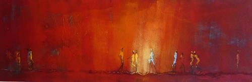 Soraya Hamzavi-Luyeh, Roter Mittwoch, Parties/Celebrations, Leisure, Abstract Art