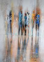 Soraya-Hamzavi-Luyeh-People-Abstract-art-Modern-Age-Abstract-Art
