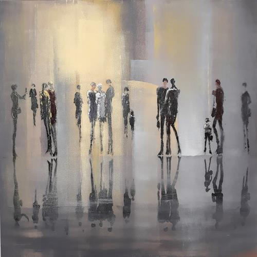 Soraya Hamzavi-Luyeh, Moderne Welt, People, People: Group, Abstract Art, Expressionism