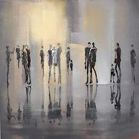 Soraya-Hamzavi-Luyeh-People-People-Group-Modern-Age-Abstract-Art