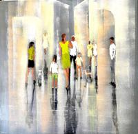 Soraya-Hamzavi-Luyeh-People-People-Families-Modern-Age-Abstract-Art