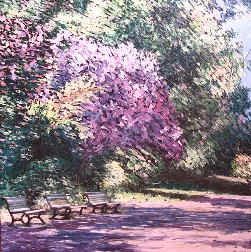 "Neo Impressionism: ""Serenada"" By Martina Krupickova, Miscellaneous Landscapes"