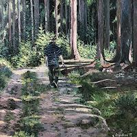 Martina-Krupickova-Miscellaneous-Landscapes-Miscellaneous-People-Modern-Age-Impressionism-Neo-Impressionism