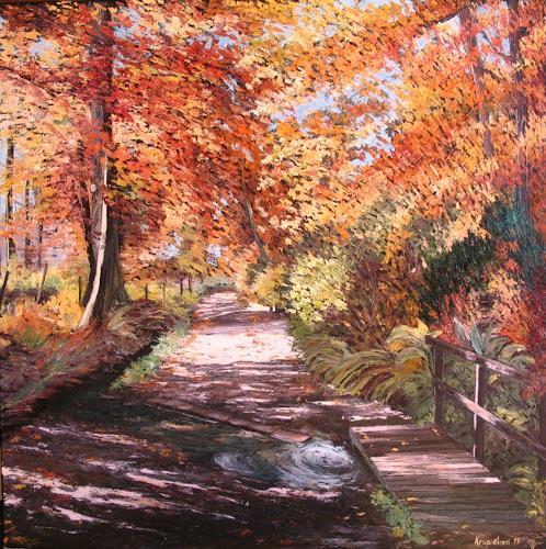 """""""Sentimentality"""" By Martina Krupickova, Landscapes: Autumn"""