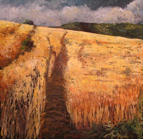 """Neo Impressionism: """"Cross Country"""" By Martina Krupickova, Miscellaneous"""