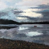 Martina-Krupickova-Landscapes-Sea-Ocean-Landscapes-Summer-Modern-Age-Expressionism-Abstract-Expressionism