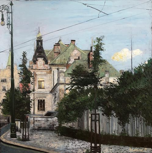 Martina Krupickova, Ghost of stations past, Architecture, Buildings: Houses, Neo-Impressionism