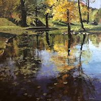 M. Krupickova, Autumn spirit in Stromovka