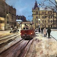 M. Krupickova, Life in Prague - reserved