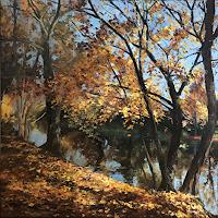 Martina-Krupickova-Landscapes-Autumn-Miscellaneous-Landscapes-Contemporary-Art-Contemporary-Art